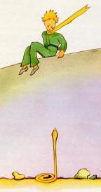 Den lille prins og den gule slange