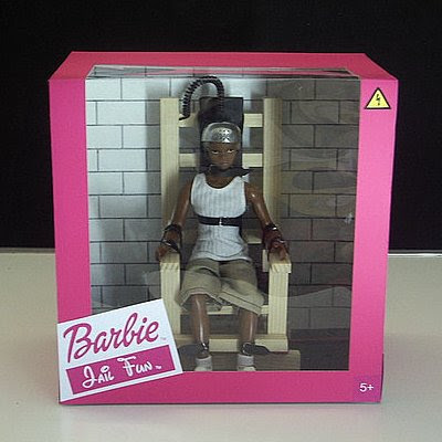 Electric chair (Barbie Jail Fun) by Isabelle Heitzmann
