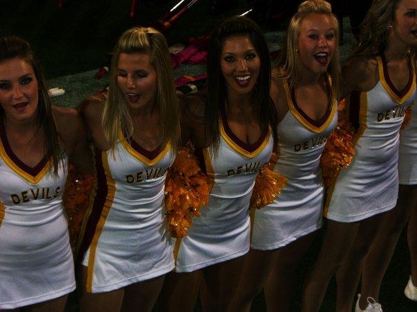 Courtney simpson asu cheerleader hot
