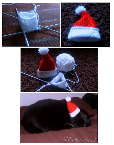 Mini Kerstmuts Kersenbloesems