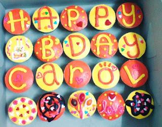 Cupcakeh0us3 Happy Birthday Carol