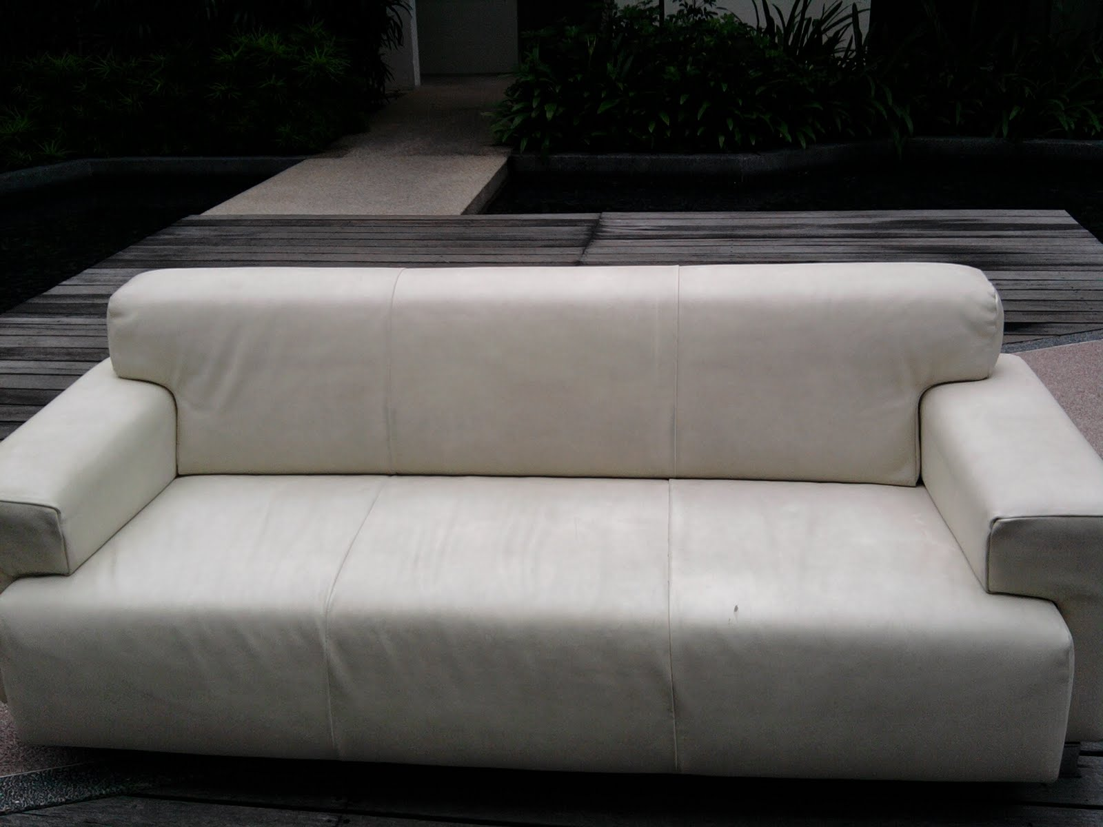 Semi Circle Sofa For Bay Window Couch Or Divan Kia Meng Trading Products And Services