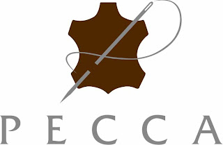 concept portal pecca leather logo design concept portal blogger