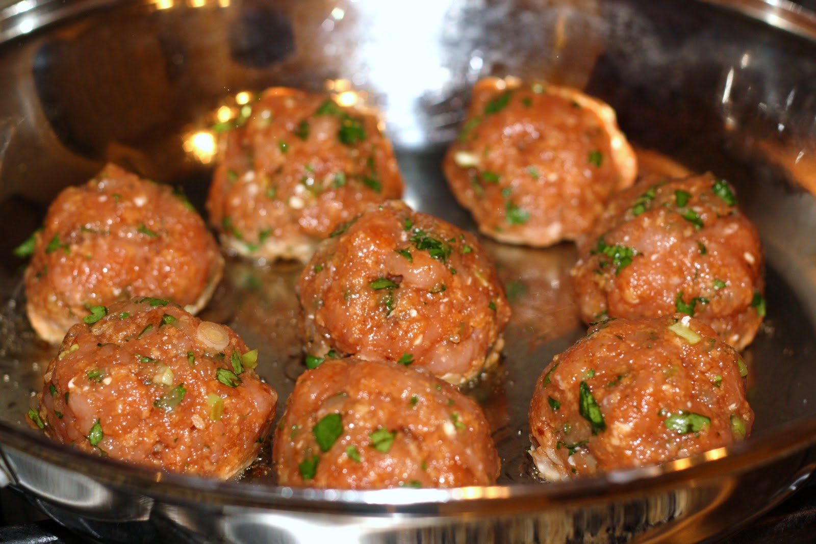 what's for dinner?: asian turkey meatballs with carrot rice... 30 ...