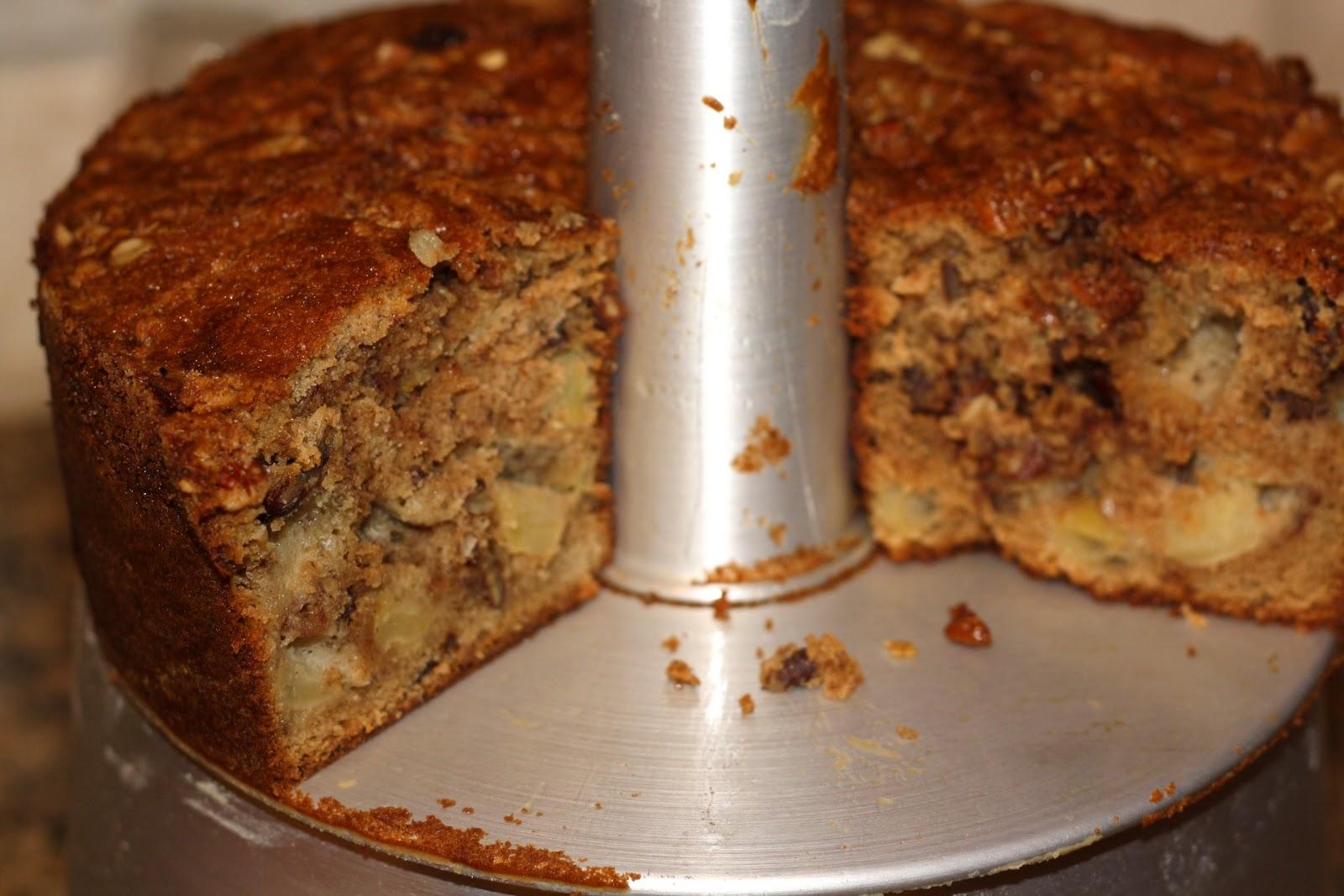 Jewish Apple Cake With Sour Cream