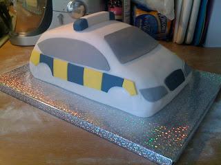 How To Make A Police Car Cake Step By Step