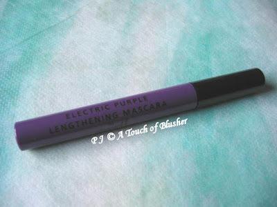 f5555e4e7e8 (Lengthening Coloured Mascara in Electric Purple)