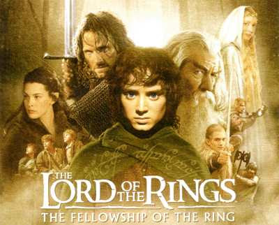 Lord of the Rings - Best Film 2001