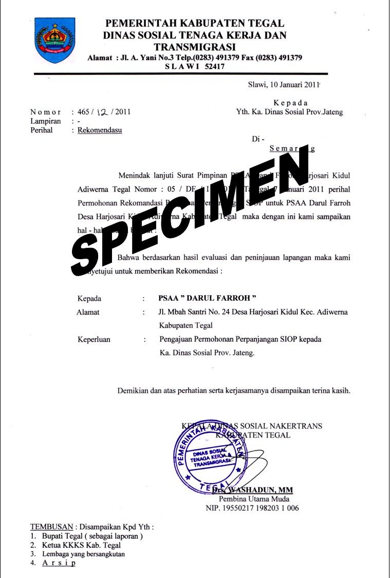 Contoh Surat Edaran Zakat Fitrah Sekolah Surat W
