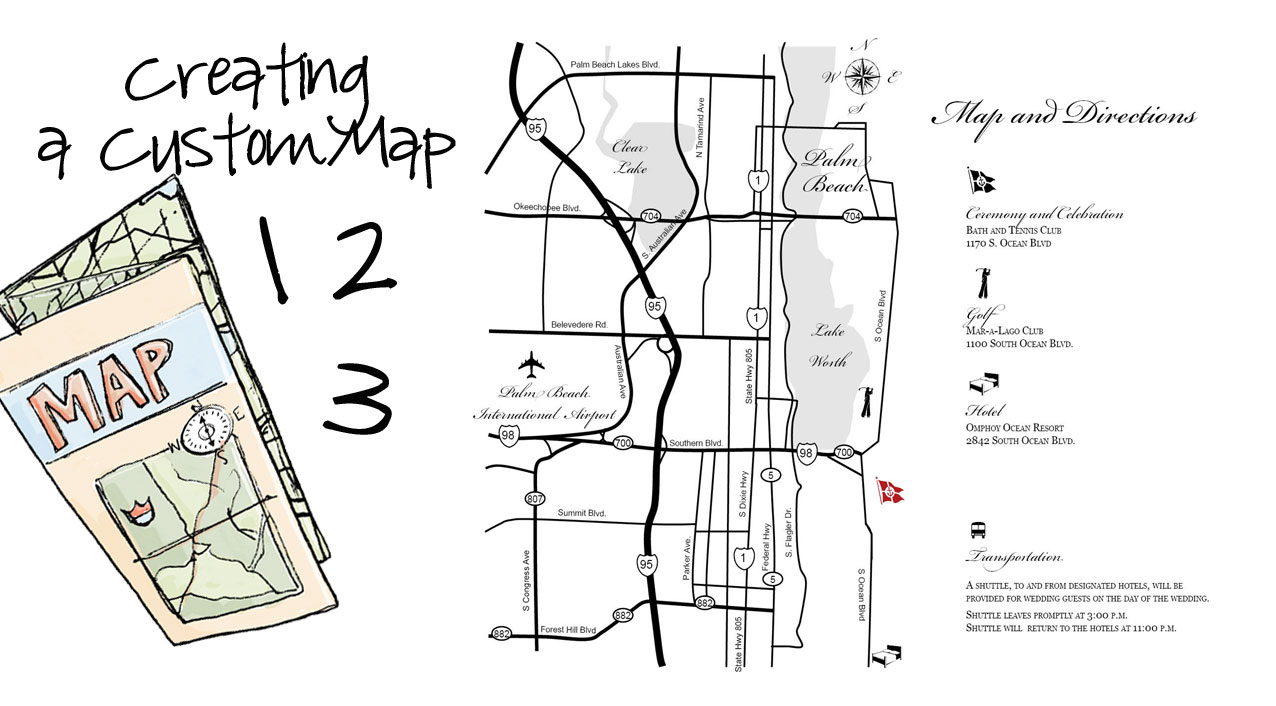 2BSquared Designs: Get Your Craft On: Making a Wedding Map on make your own dress, make your own family, make your own home, make your own save the date, make your own flowers, make your own cake,