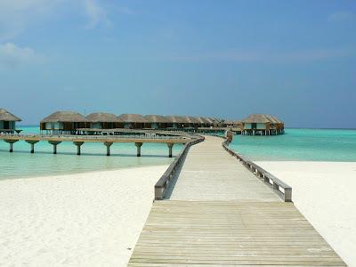 Vile pe apa in Maldive