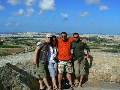Imagini Malta: pe zidurile din Mdina