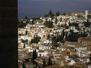 Imagini Spania: panorama Granada