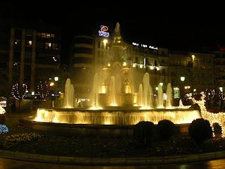 Obiective turistice Spania: fantana in Granada