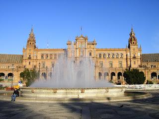 Obiective turistice Andaluzia: Plaza Espana Sevilla