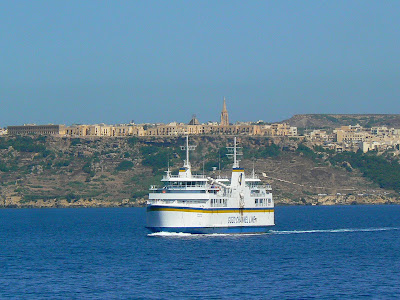 Obiective turistice Malta: vaporul de Gozo