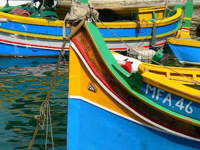 Imagini Malta: barci traditionale malteze