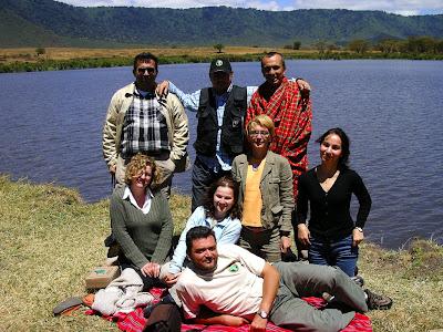 Picnic la safari Ngorongoro Tanzania