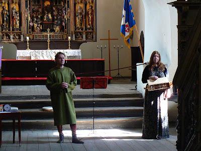 Obiective turistice Estonia: orasul vechi Talinn, muzica medievala