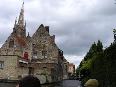 Obiective turistice Bruges: pe canale