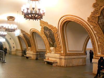 Statia metro Kropotinskaya