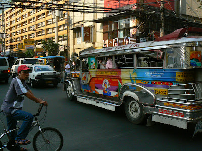 Jeepney, transportul local in Filipine