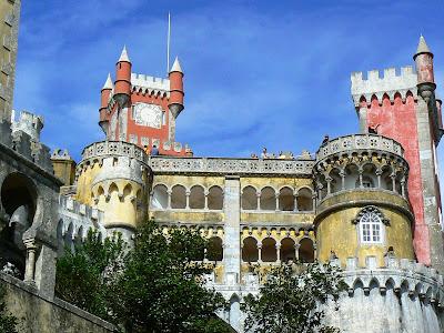 Obiective turistice Portugalia: Palatul Pena Sintra
