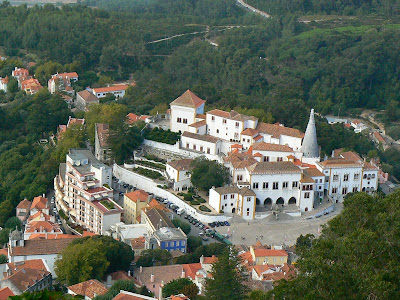 Obiective turistice Sintra: Palatul National