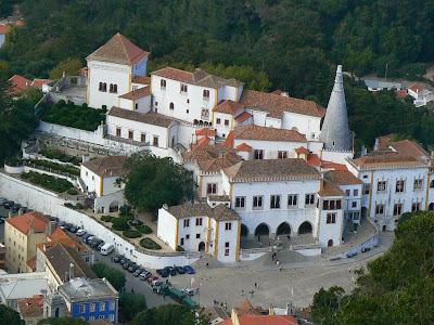 Obiective turistice Portugalia: Palatul National Sintra