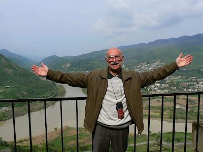 Imagini Georgia: Eduard, gazda mea din Tbilisi