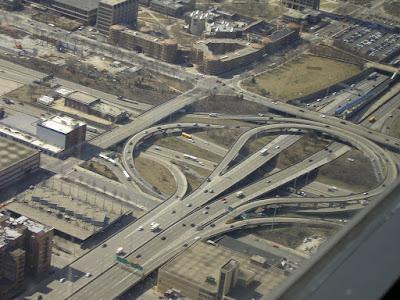 Imagini Chicago: sistem de autostrazi urbane