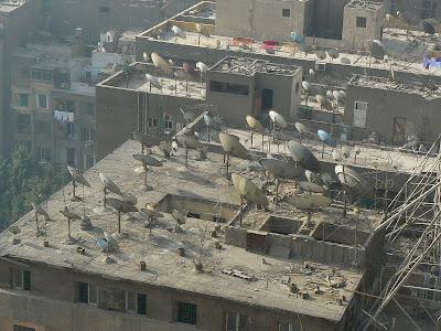 Cazare Egipt: Isis Hotel Cairo o mare de parabolice
