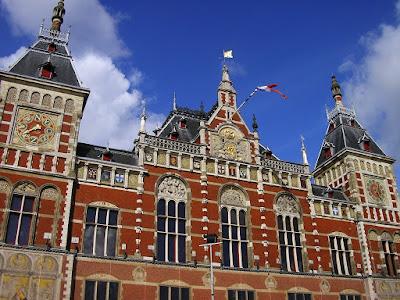 Transport Olanda: gara Amsterdam Centraal