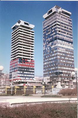 Imagini Sarajevo: centrul de presa olimpic