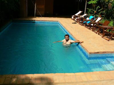 Cazare Mopti: hotel Y'a Pas de Probleme - piscina