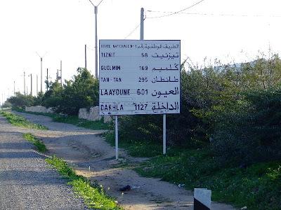 Indicator rutier: drumul spre Bamako