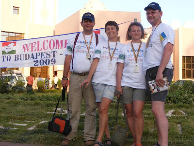 Echipaj romanesc la cursa Budapesta - Bamako