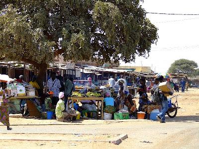 Obiective turistice Mauritania: piata traditionala africana