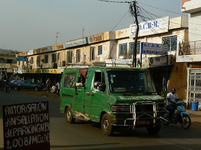 Transport Mali: transport in comun Bamako