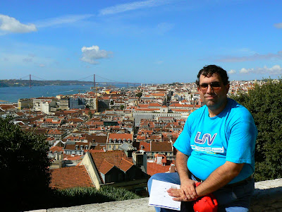 Imagini Portugalia: panorama de la Sao Jorge Lisabona