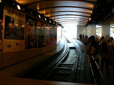 Imagini Hong Kong: statia Victoria Tram din oras