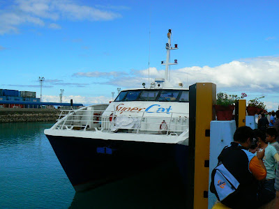 Transport Filipine: ferry Cebu - Bohol