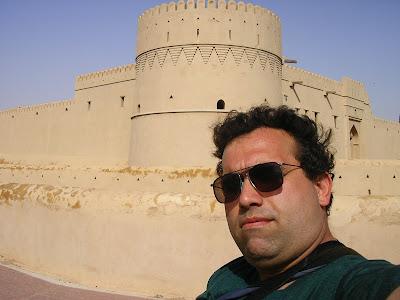 Obiective turistice Oman: fort Buraimi