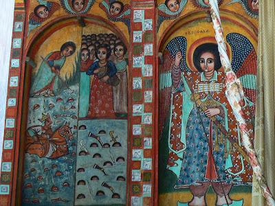 Obiective turistice Etiopia: fresce ortodoxe etiopiene