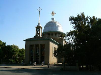 Obiective turistice Etiopia: manastirea Debre Libanos