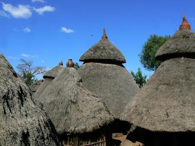 Imagini Etiopia: resedinta regelui Konso
