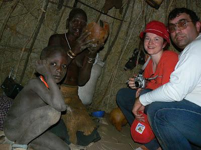 Imagini Etiopia: in coliba mursi