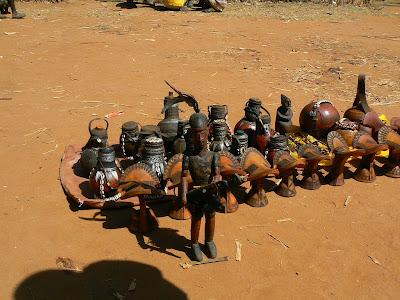 Obiective turistice Etiopia: targul din Key Afer