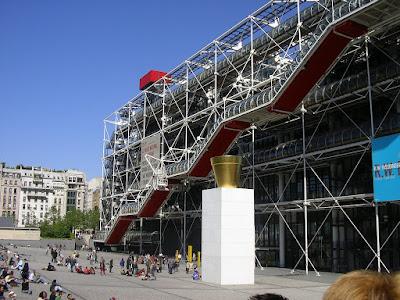 Imagini Franta: Centre Pompidou Paris
