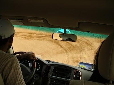 Obiective turistice Dubai: Safari in desert pe dune